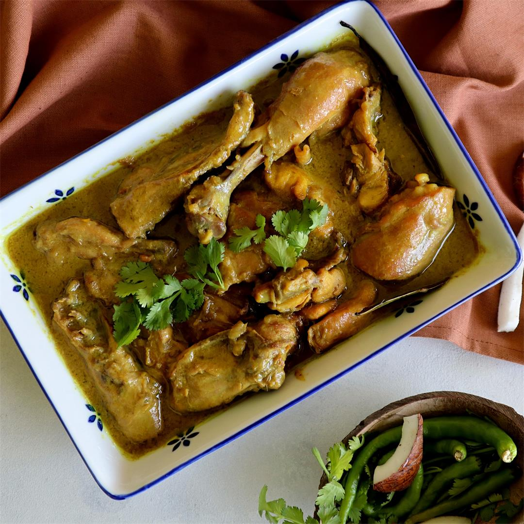 Chicken in Coconut Milk