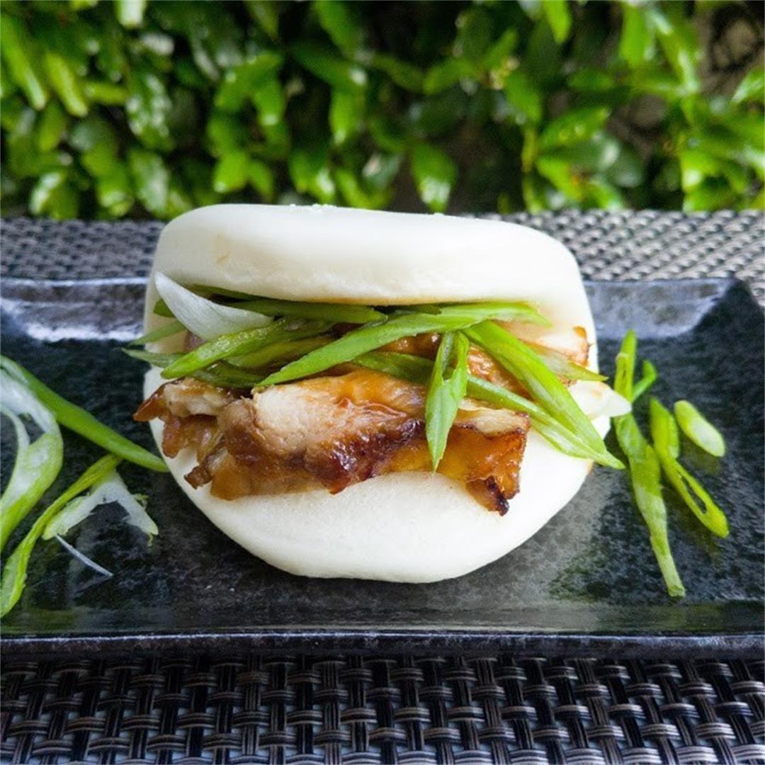 Chinese Roast Chicken Buns