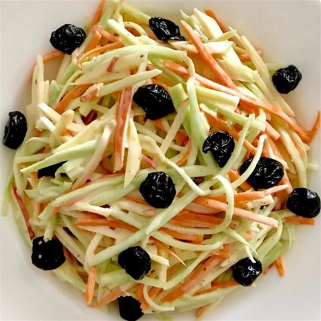 Broccoli Stem and Carrot Slaw
