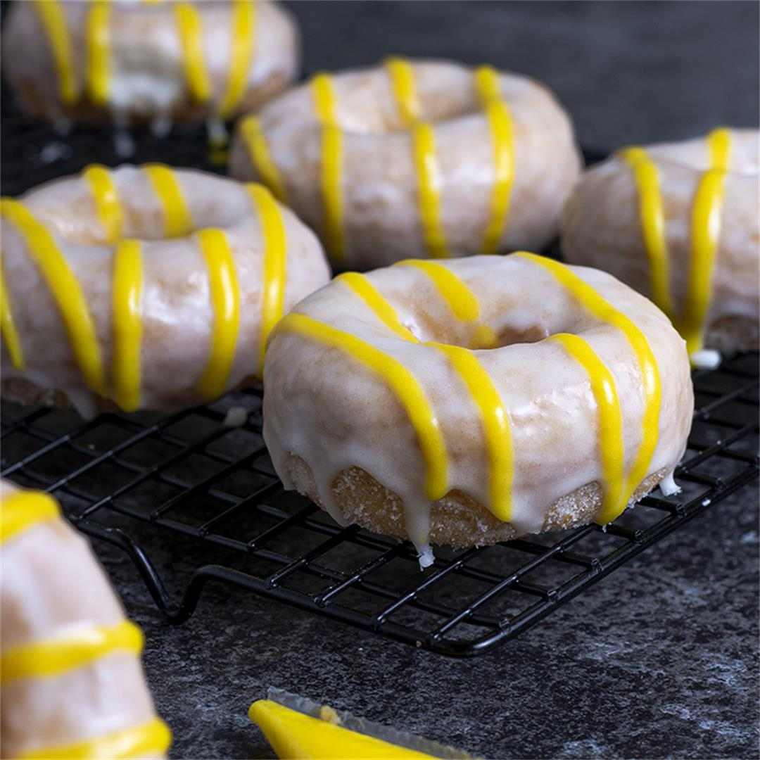 Lemon Sour Cream Donuts