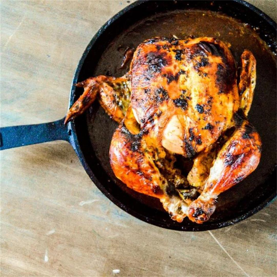 Chili Butter Roasted Chicken