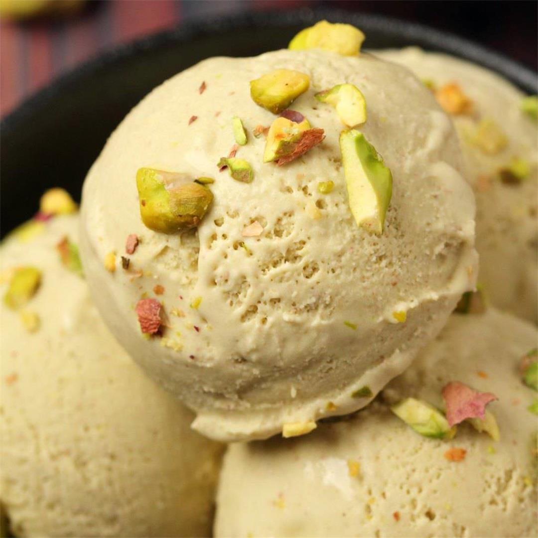 Vegan Pistachio Ice Cream