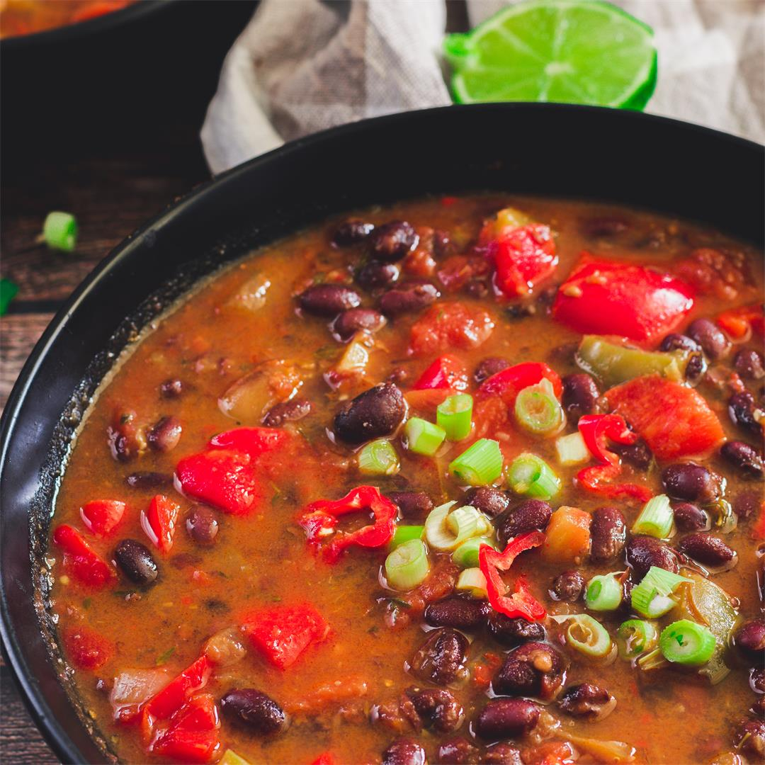 Black Bean Soup (One Pot)