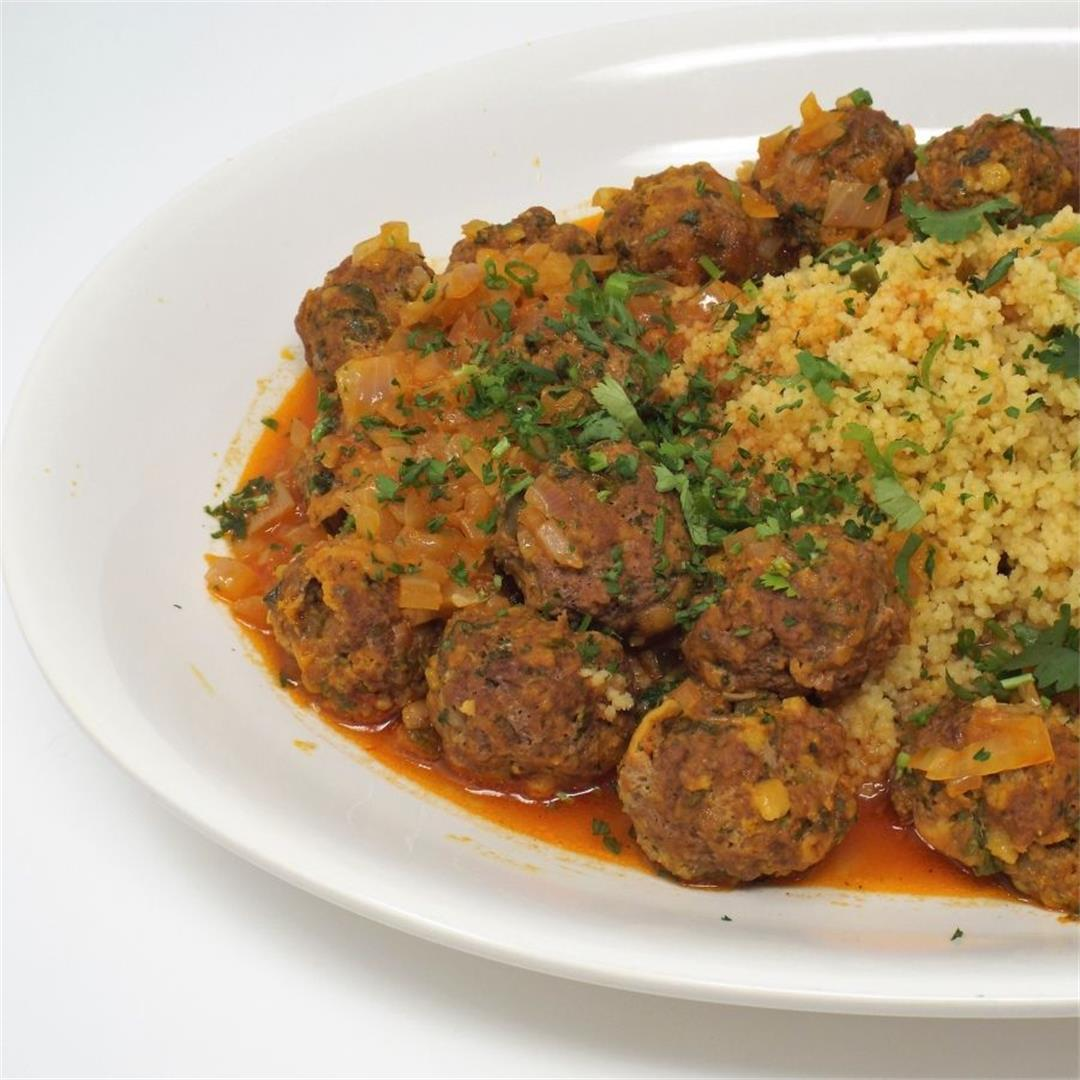 North African Spiced Meatballs