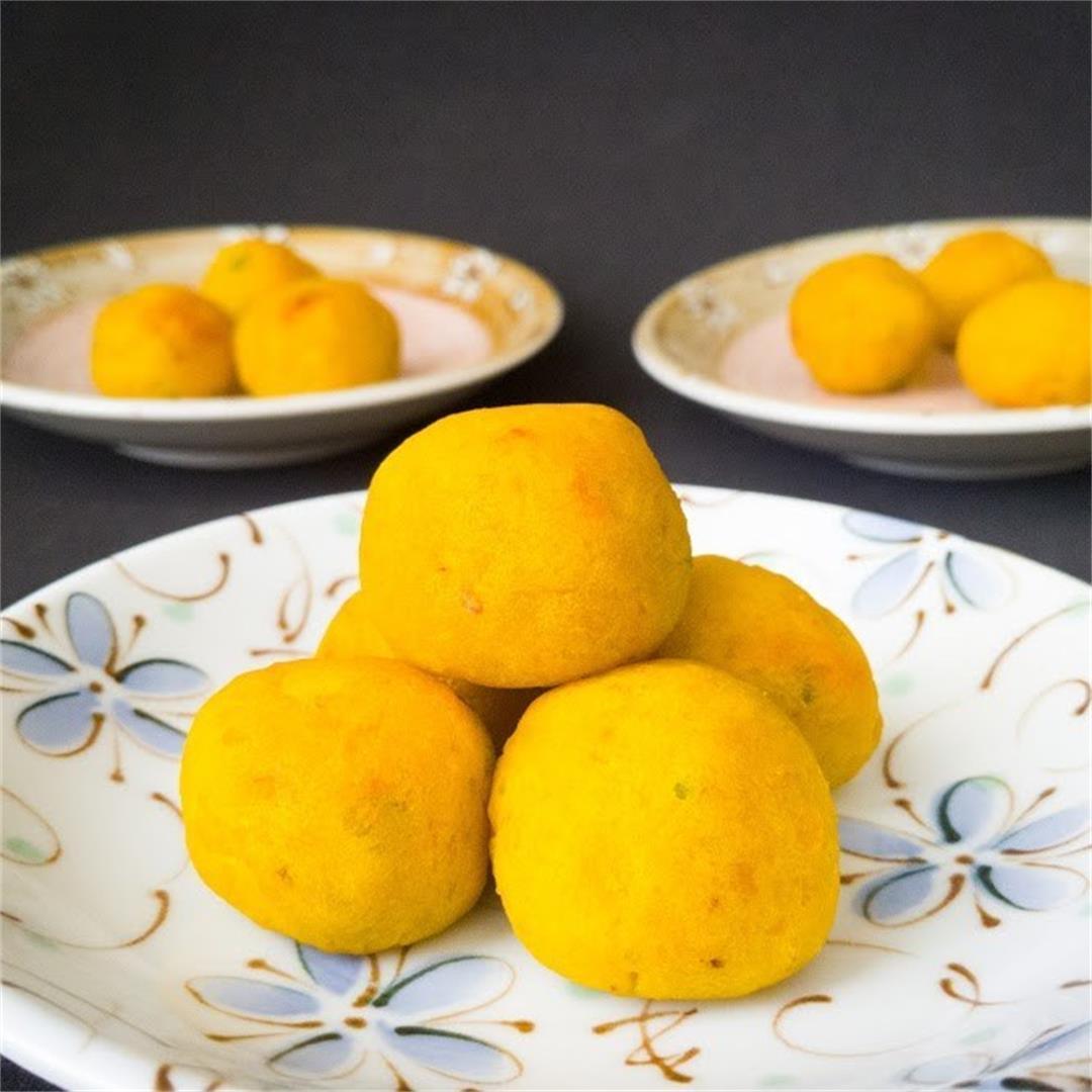 Golden Kabocha Balls
