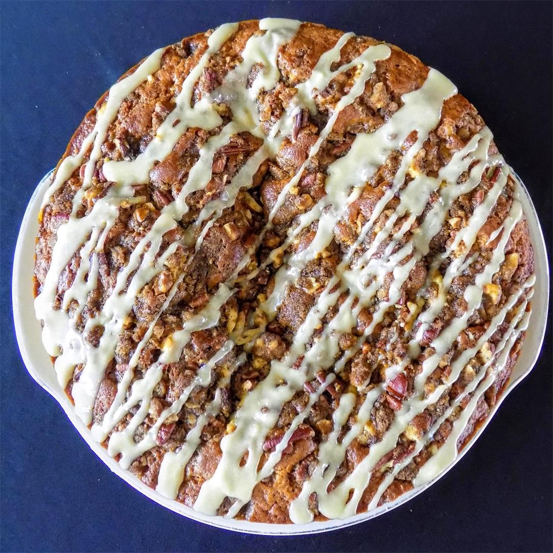 Maple Double-Nut Coffee Cake