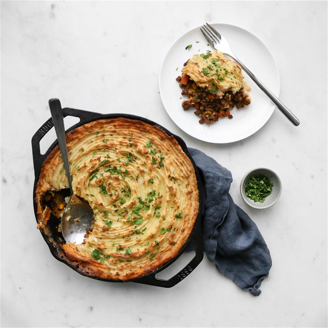 Not So Traditional Cottage Pie