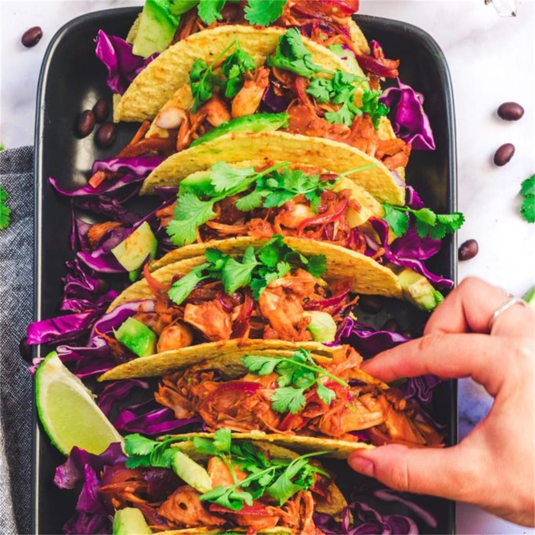 Easy Vegan Jackfruit Tacos
