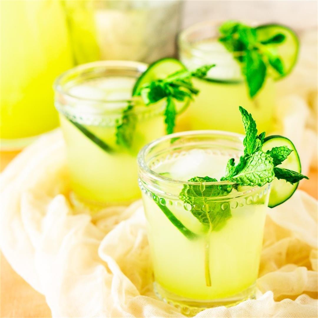 Mint-Cucumber Lemonade