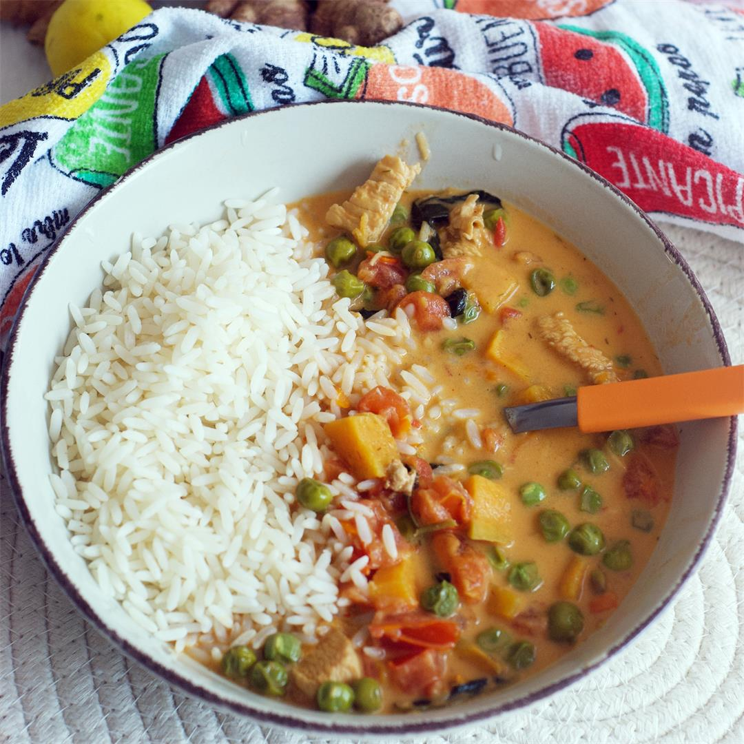 Easy Everyday Thai Red Curry