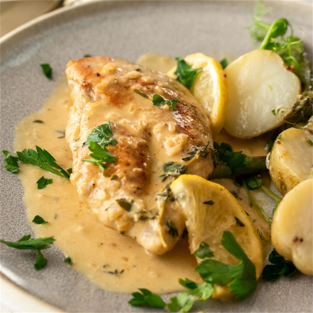 Creamy Lemon Thyme Chicken