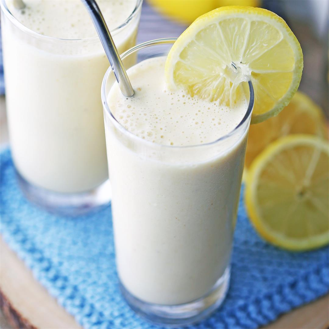 Lemon Pineapple Smoothies