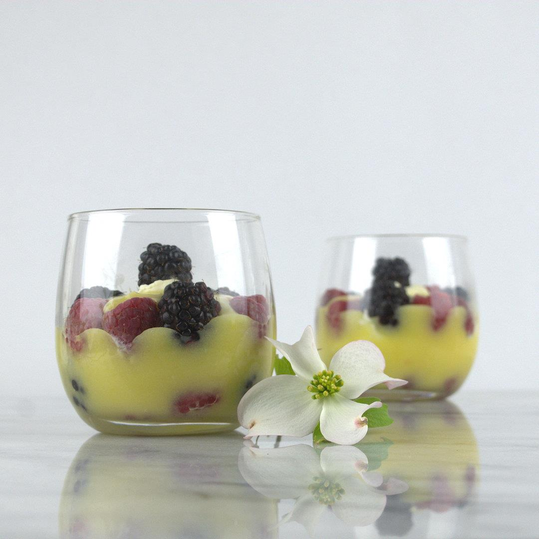 Lemon Curd Dessert with Berries – A Gourmet Food Blog