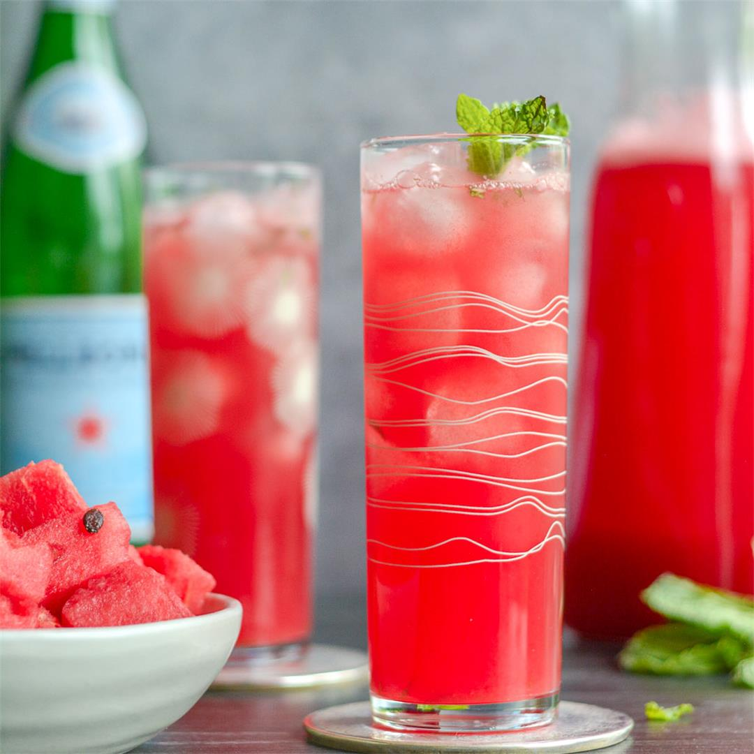 Fresh Watermelon Spritzer — Wanderings in My Kitchen
