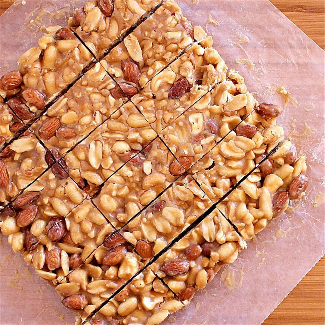 Low Carb Nut Bar