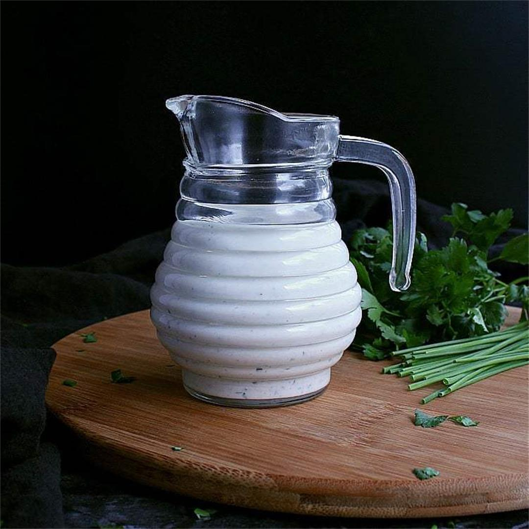 Homemade Low Carb Ranch Dressing