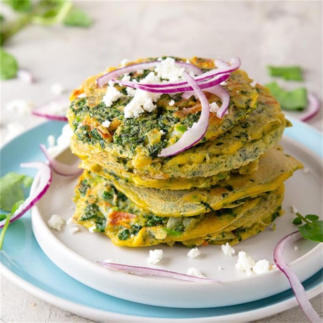 Tortitas de Berro: Easy Recipe for Guatemalan Watercress Omelet