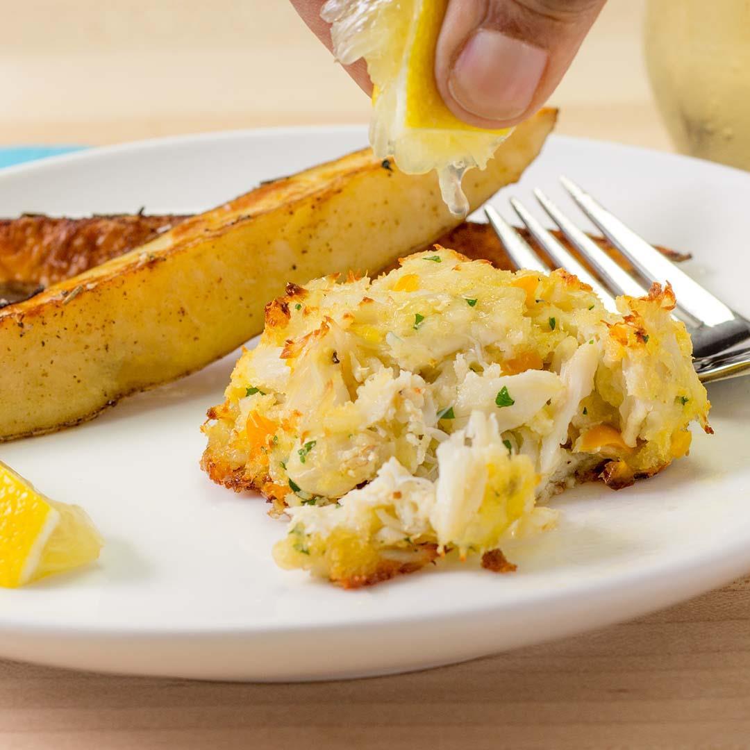 Crab Cakes Lite