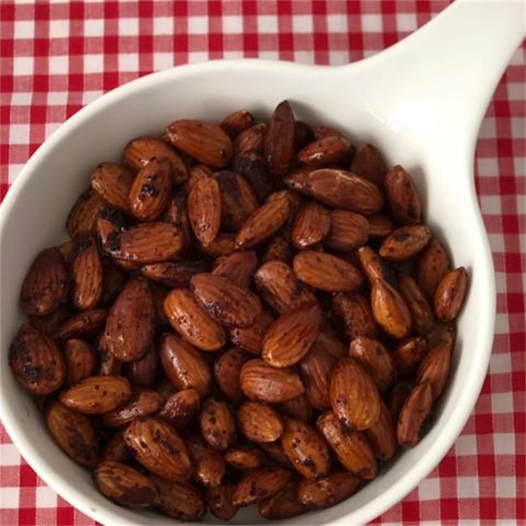 Soy Roasted Almonds