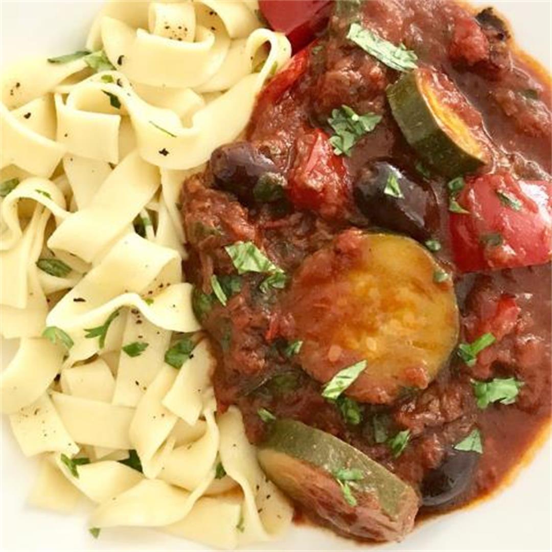 Mediterranean Beef Stew