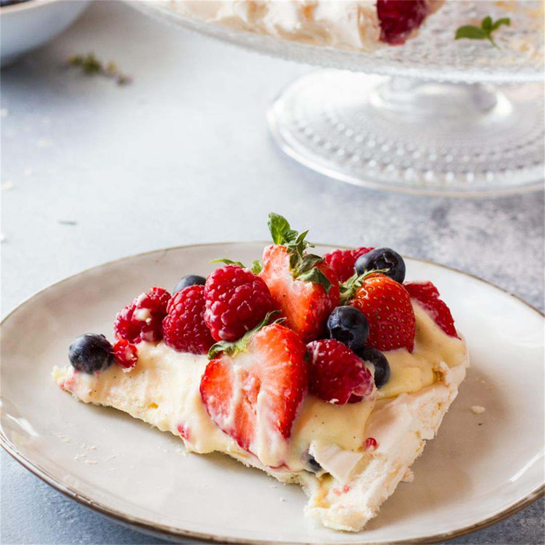 The Best Summer Berry Pavlova Recipe