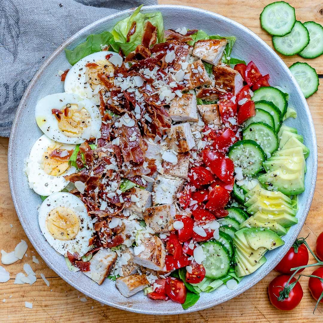 Easy Turkey Cobb Salad