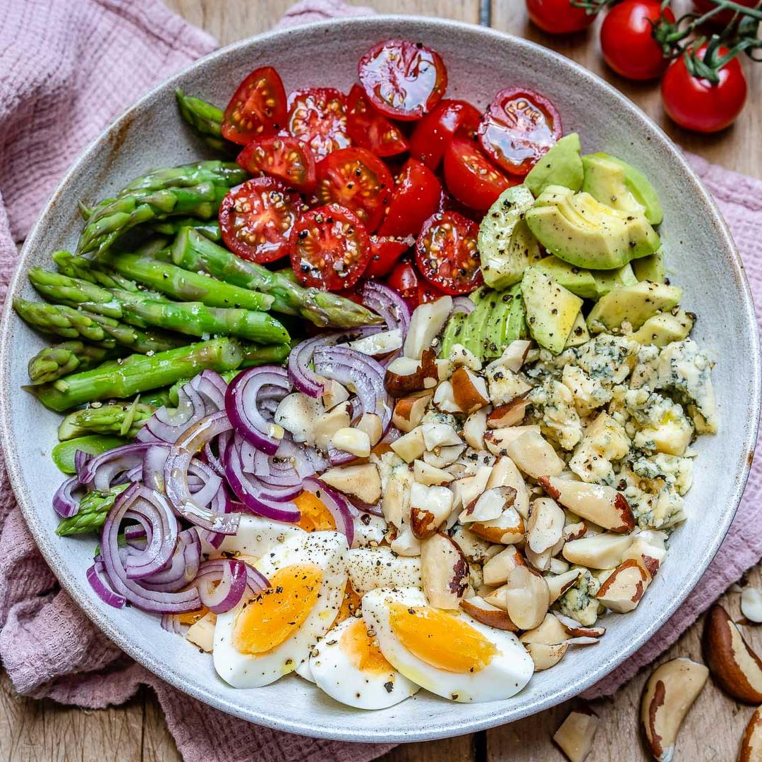 Asparagus Avocado And Tomato Salad – Easy Keto Recipe