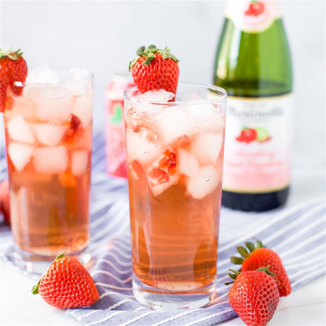 Sparkling Grapefruit Mocktail (Faux Rosé)
