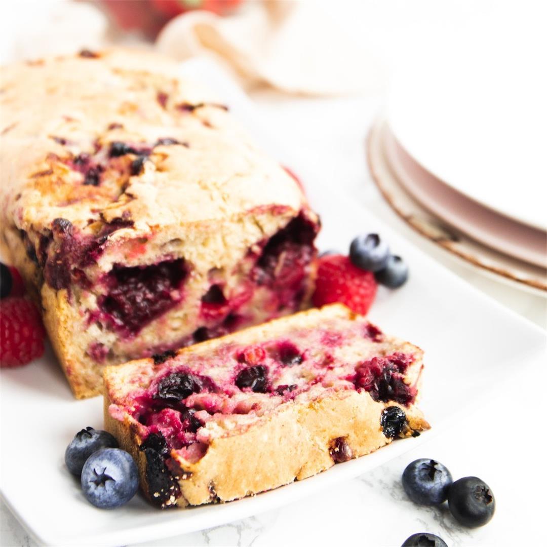 Low-Fat Berry Bread