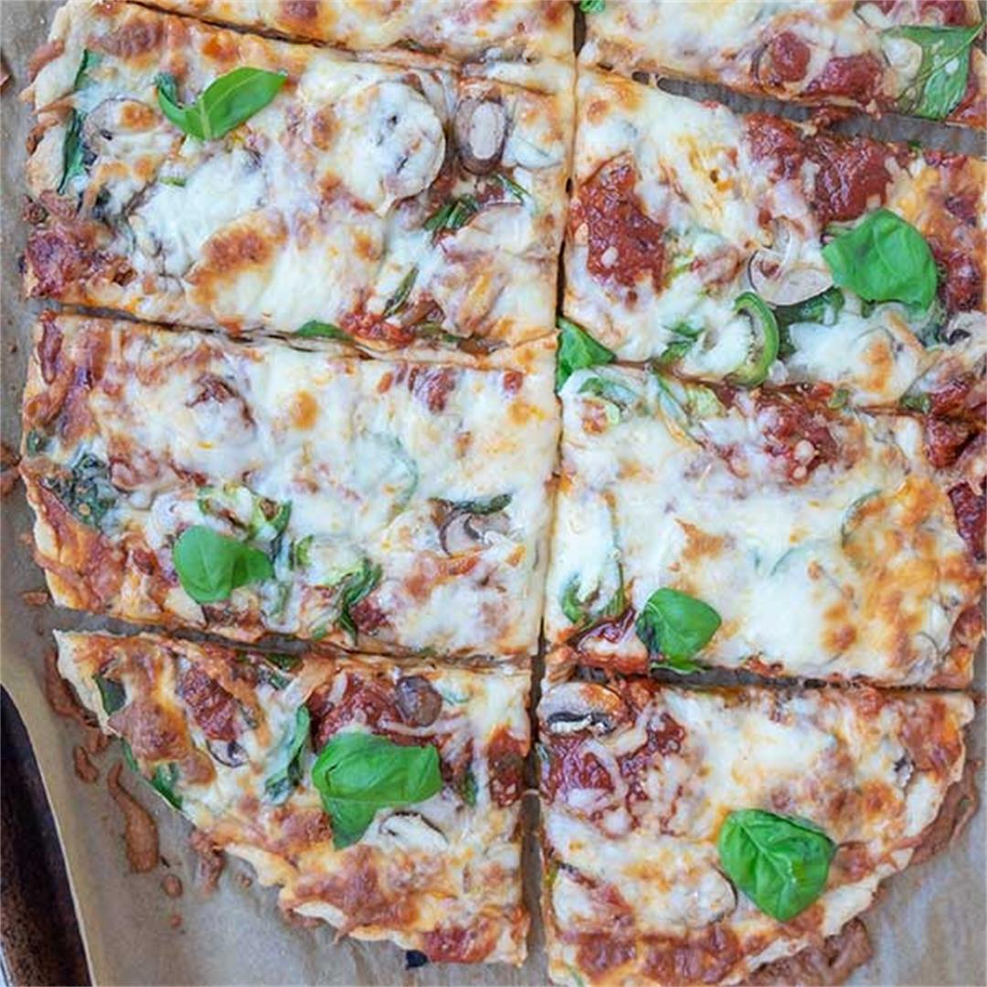 Gluten-Free Crispy Thin Pizza Crust