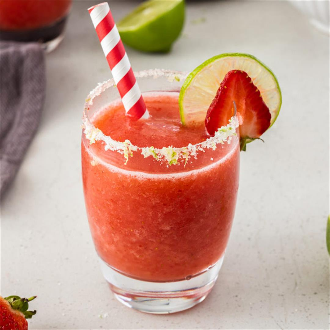 Frozen Moscato Strawberry Daiquiri