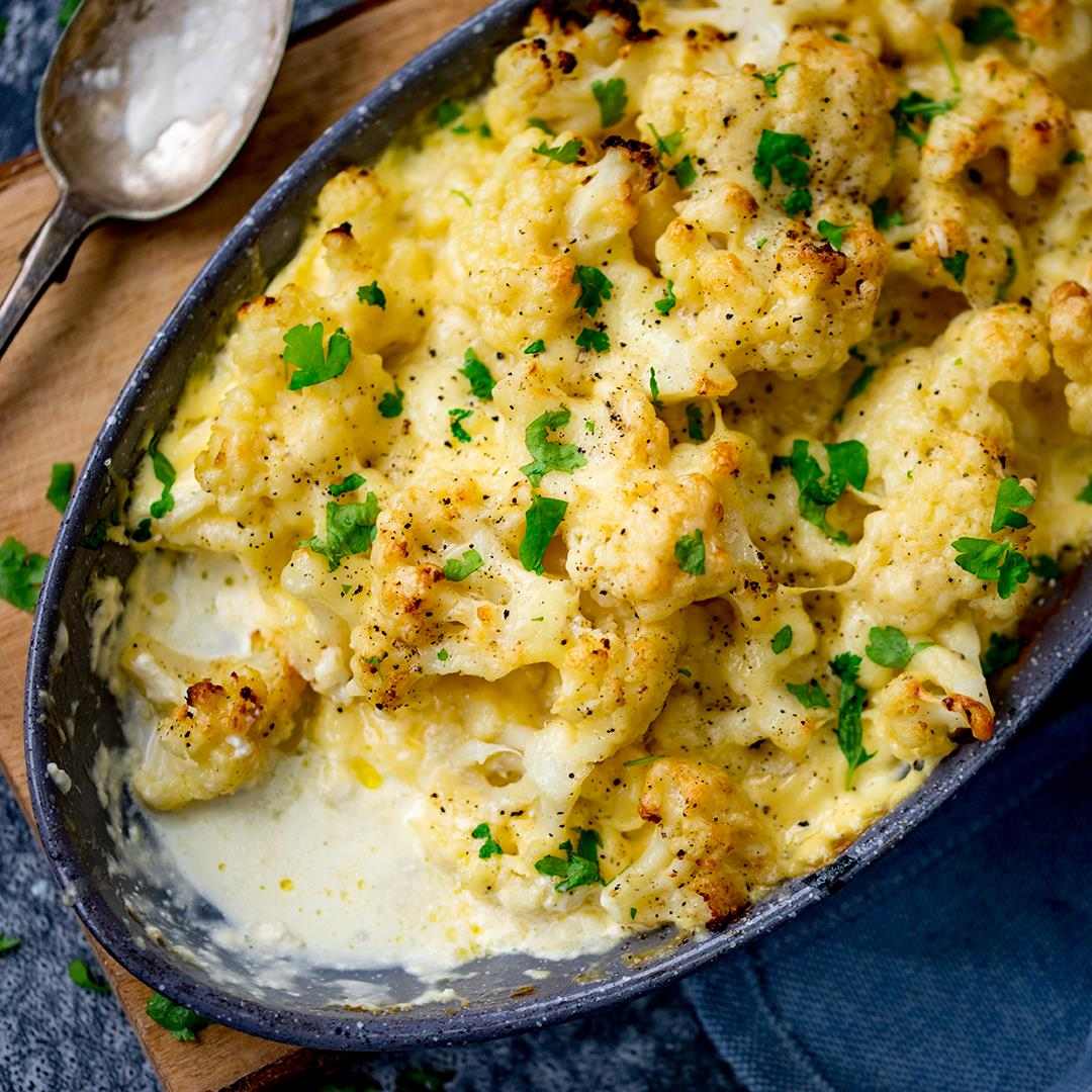 The easiest cauliflower cheese (gluten free too!)