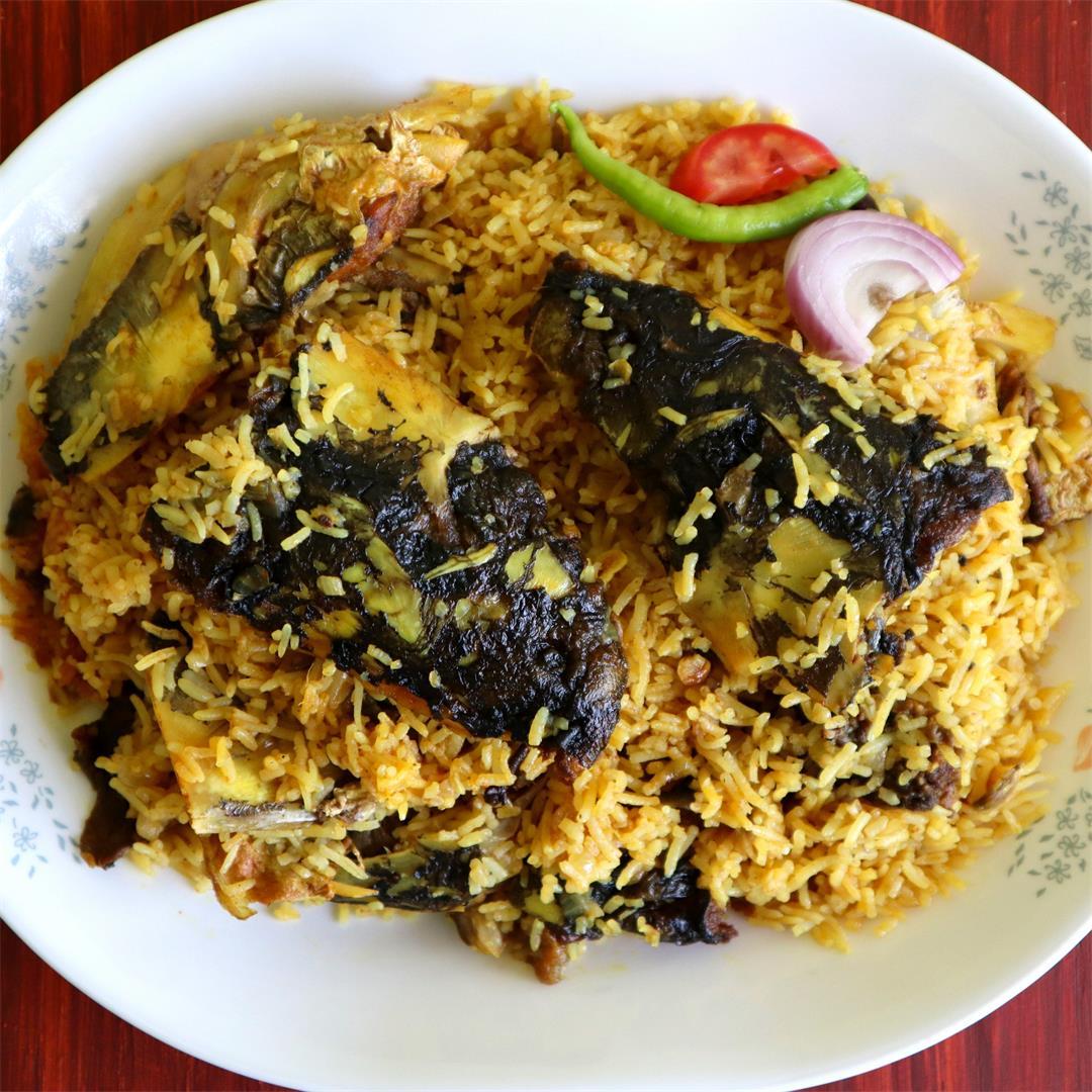 Fish Head & Rice Mishmash