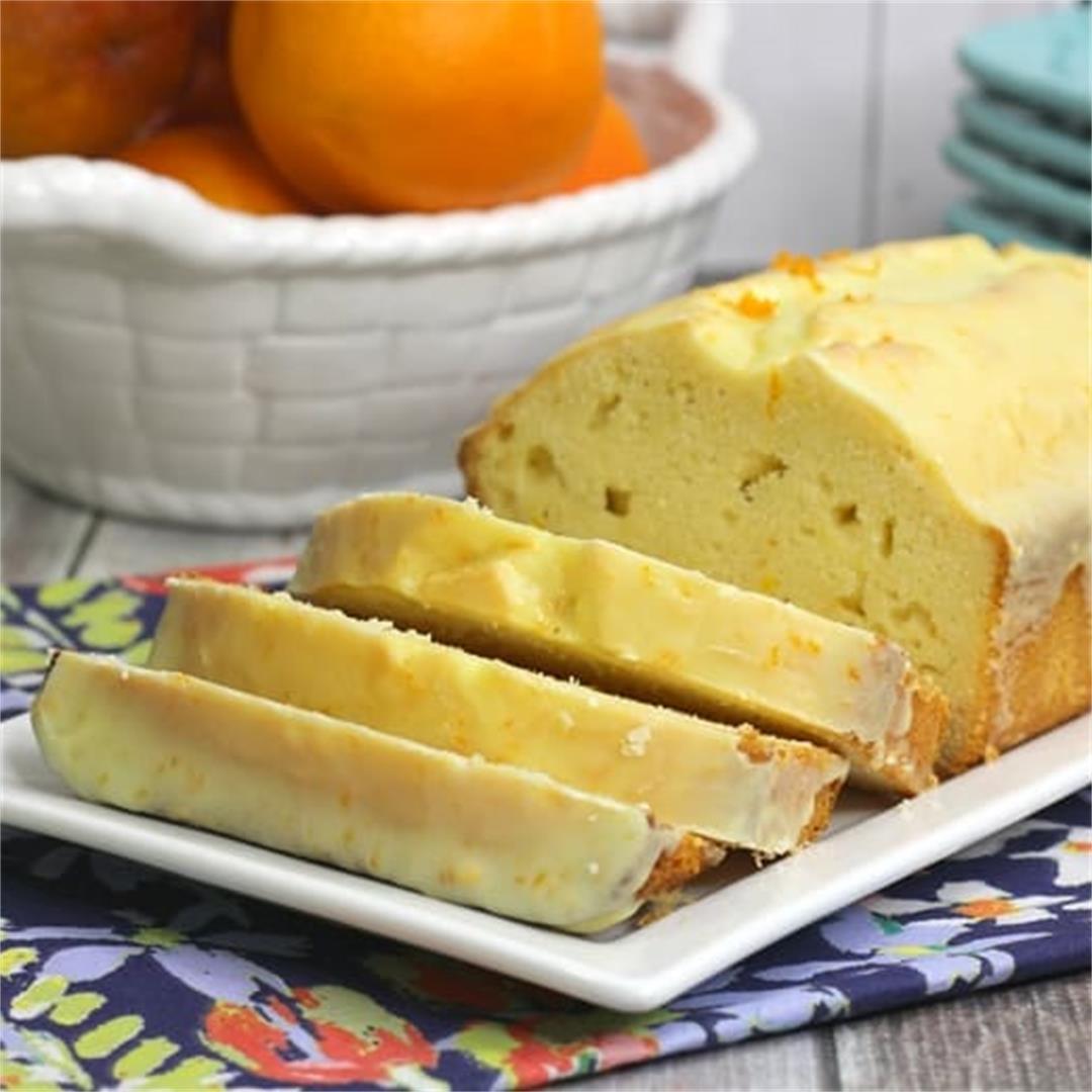Glazed Mimosa Bread Recipe