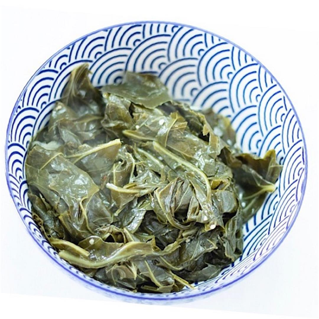 Collard Greens in the Instant Pot
