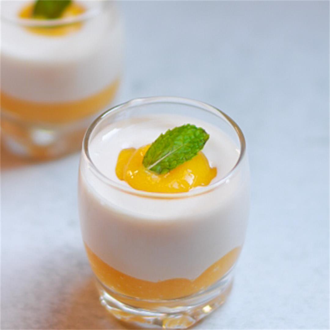 Mango Coconut Summer Dessert