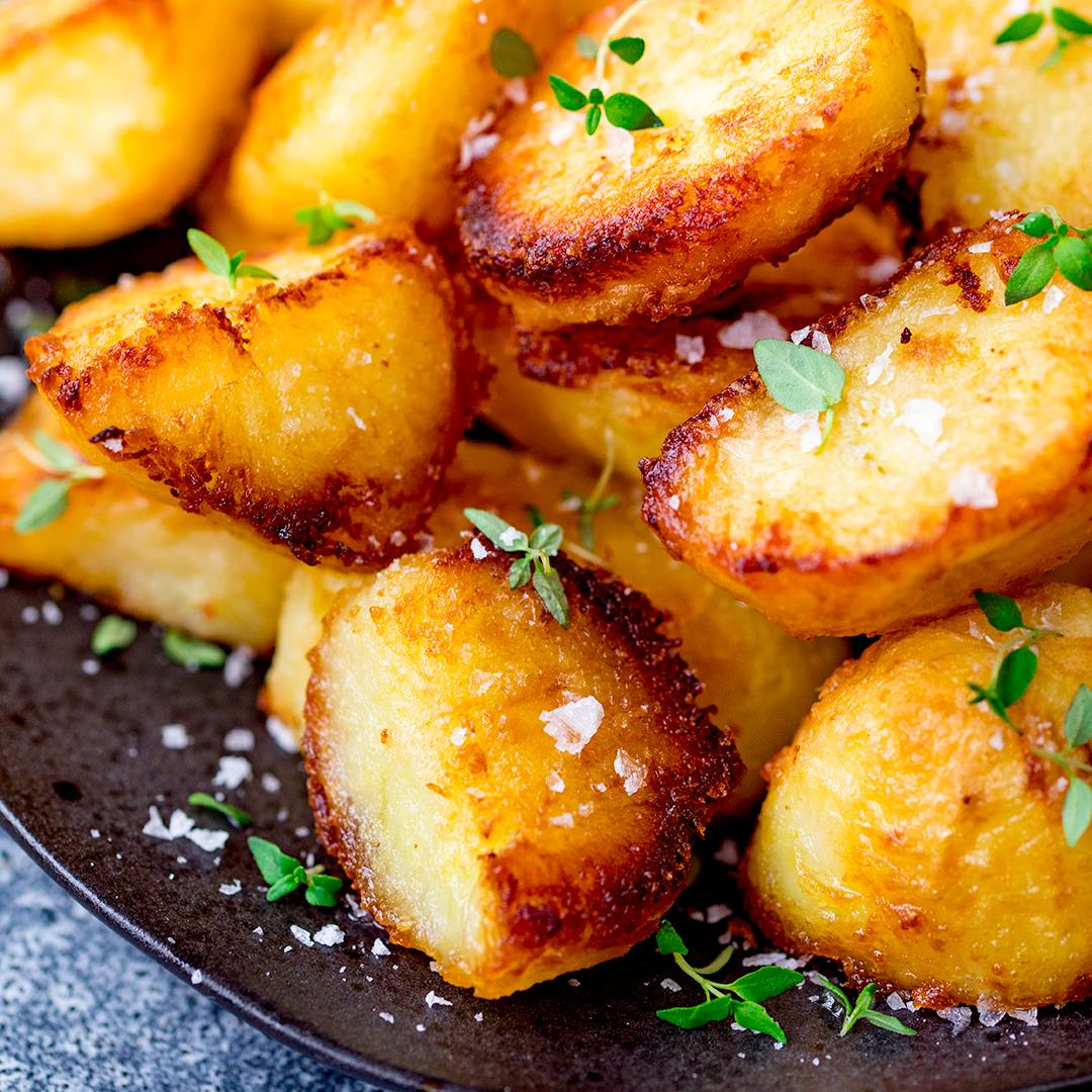 The best crispy roast potatoes