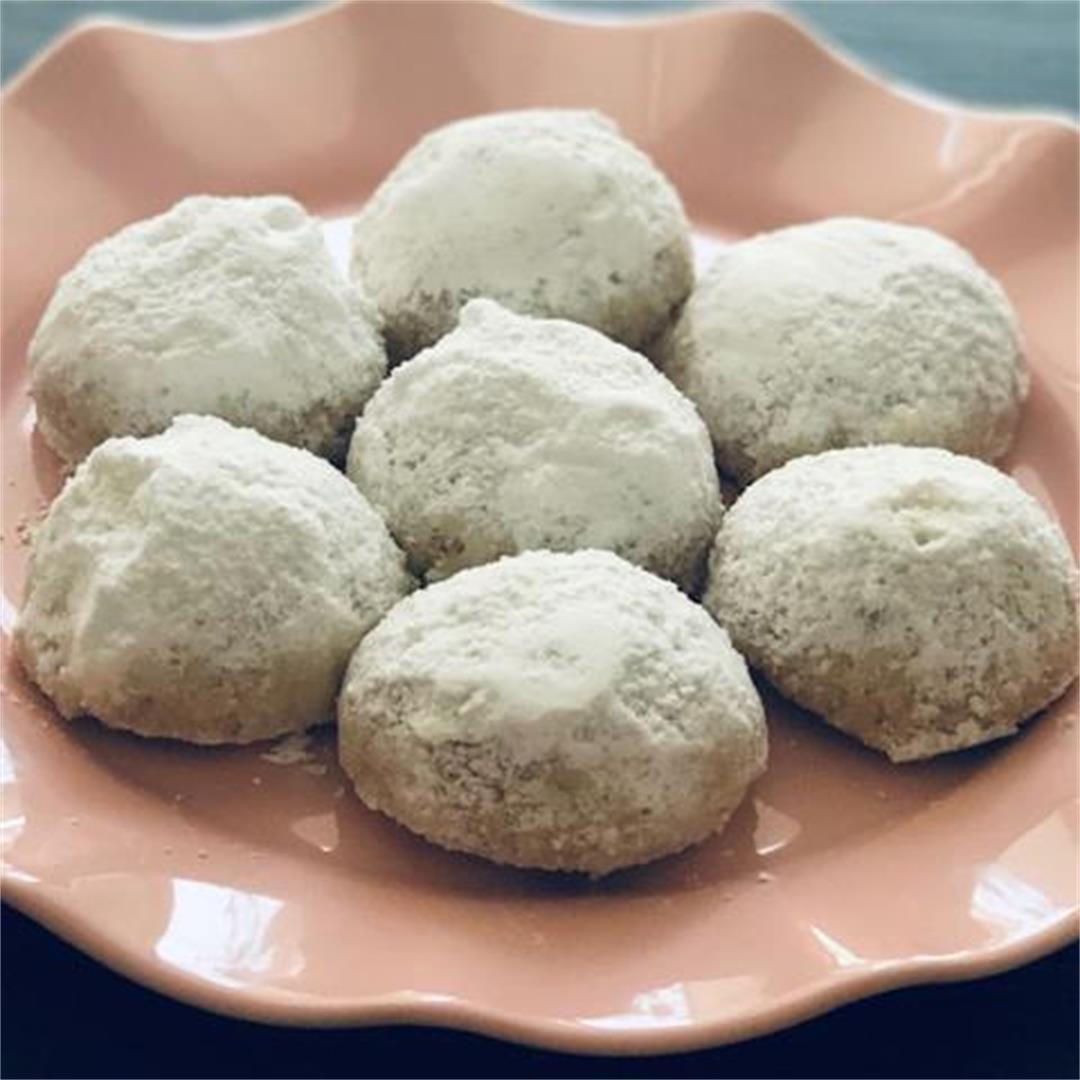 Gluten Free Pecan Puffs