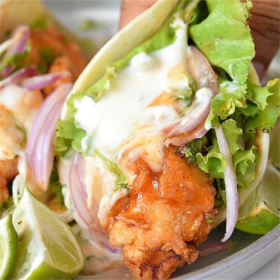 Make These Best Crispy Chicken Tacos for Dinner