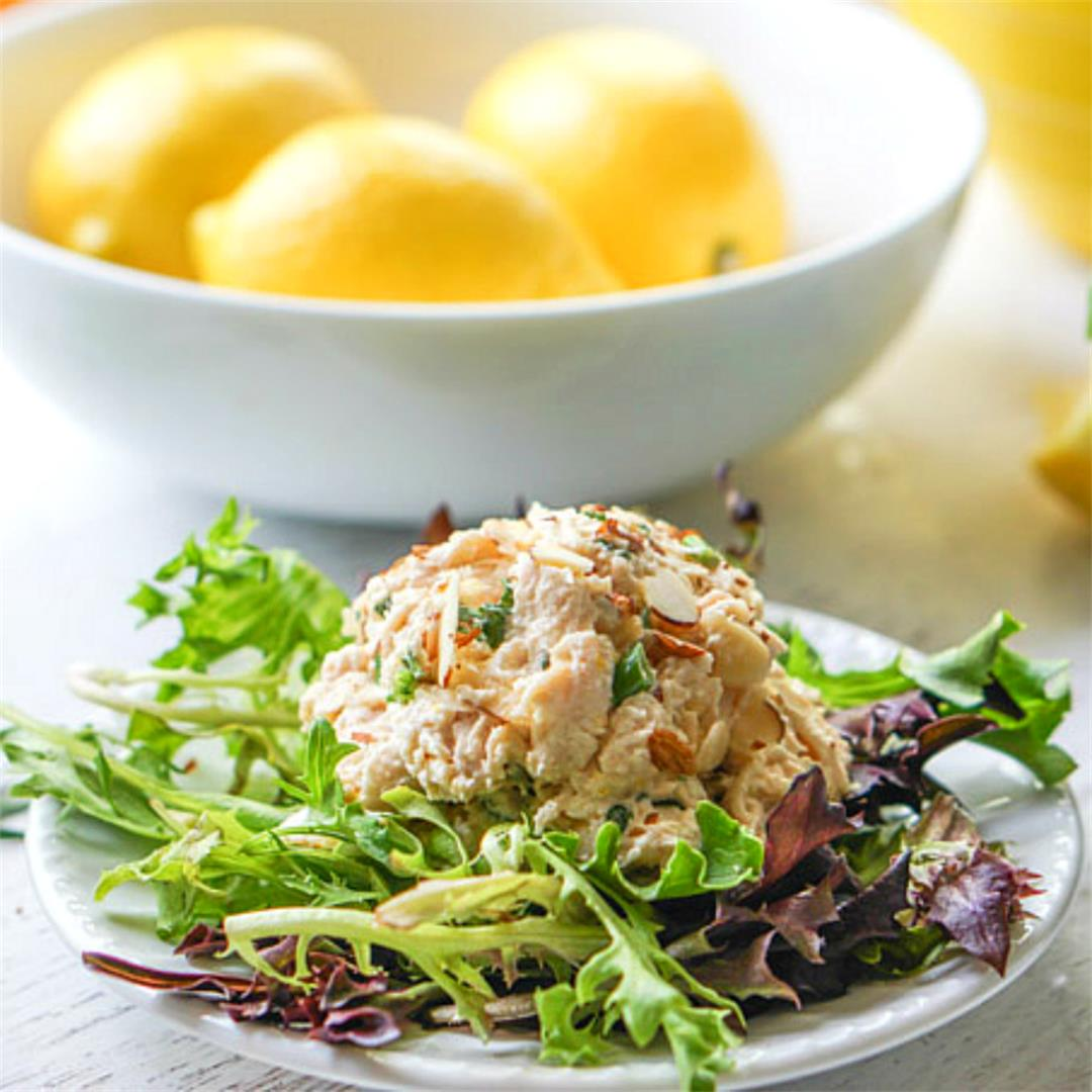 Lemon & Herb Low Carb Chicken Salad