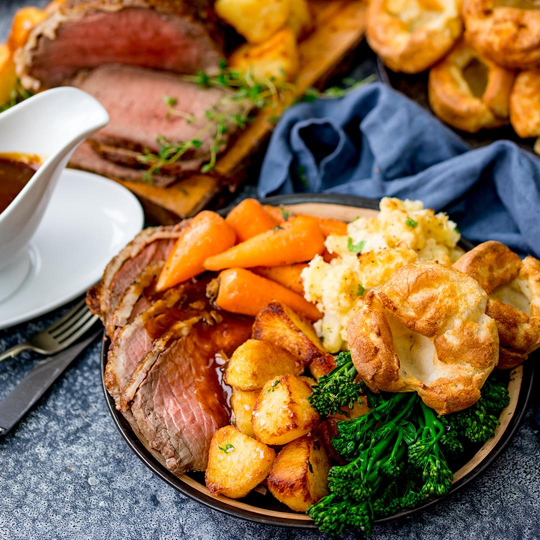 How to make the best roast beef dinner