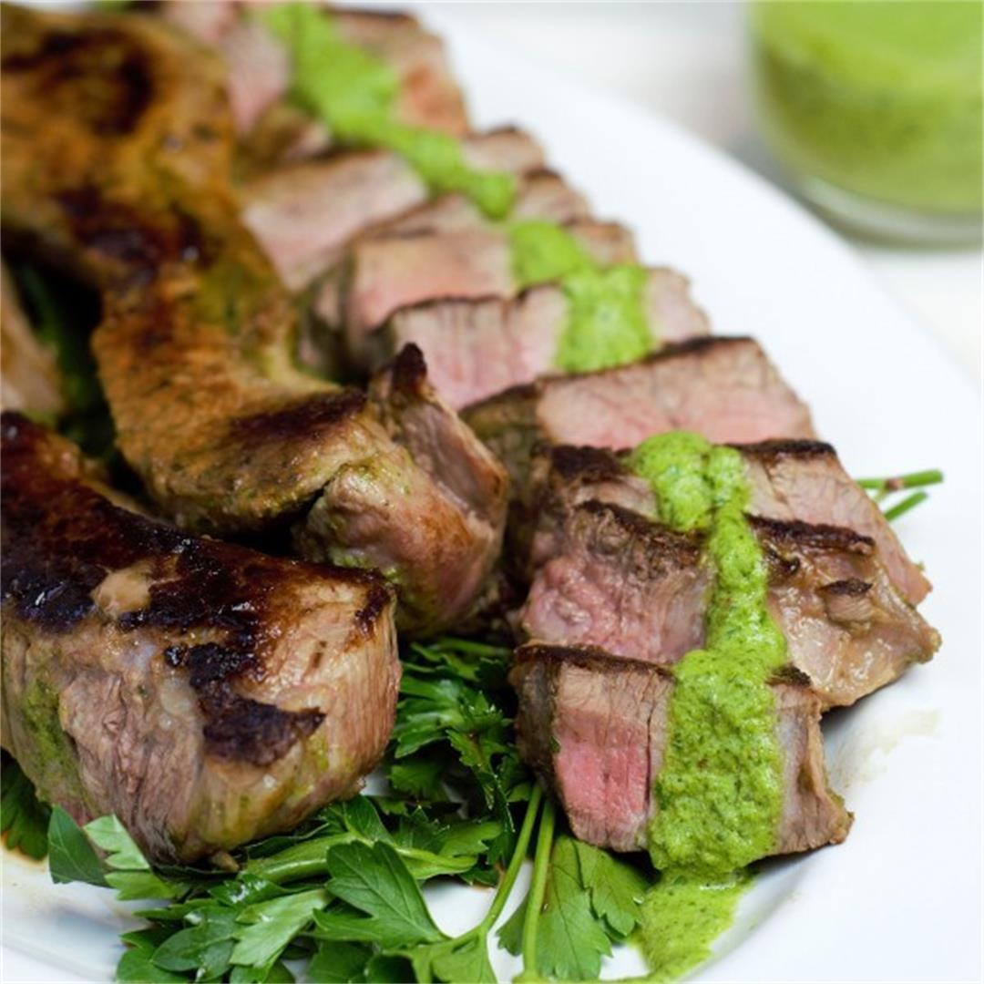 Chimichurri Tri Tip Steak