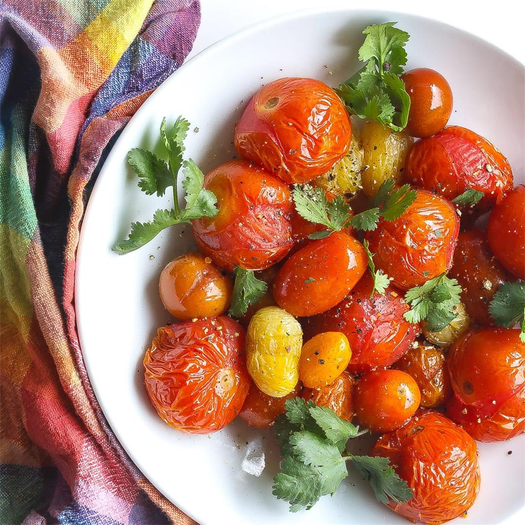 Smoked Tomatoes Salad