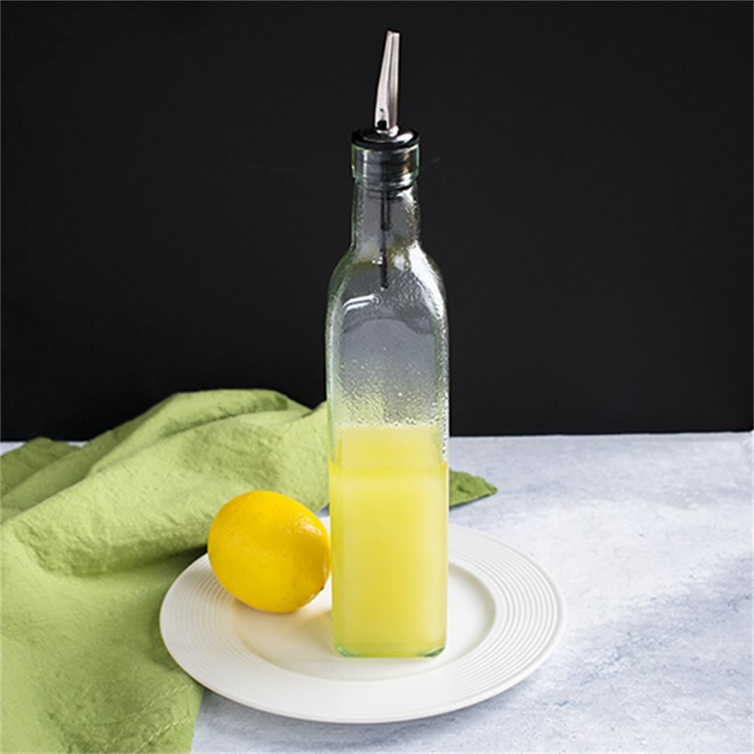 Lemon-Infused Olive Oil