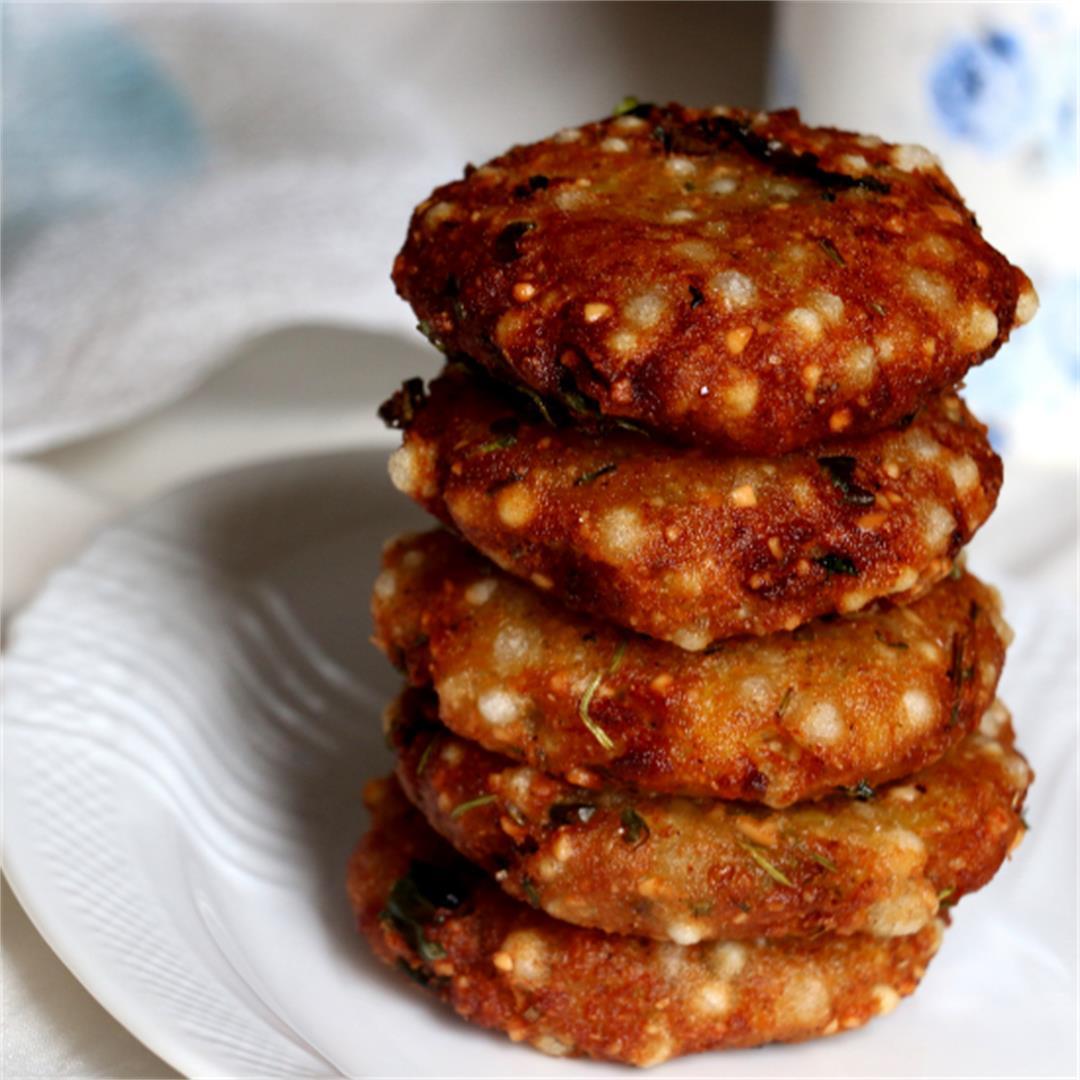Sabudana Vada- Vegan & Gluten free snack