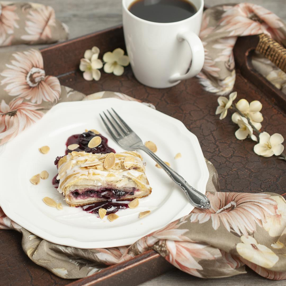 Cherry Almond Danish