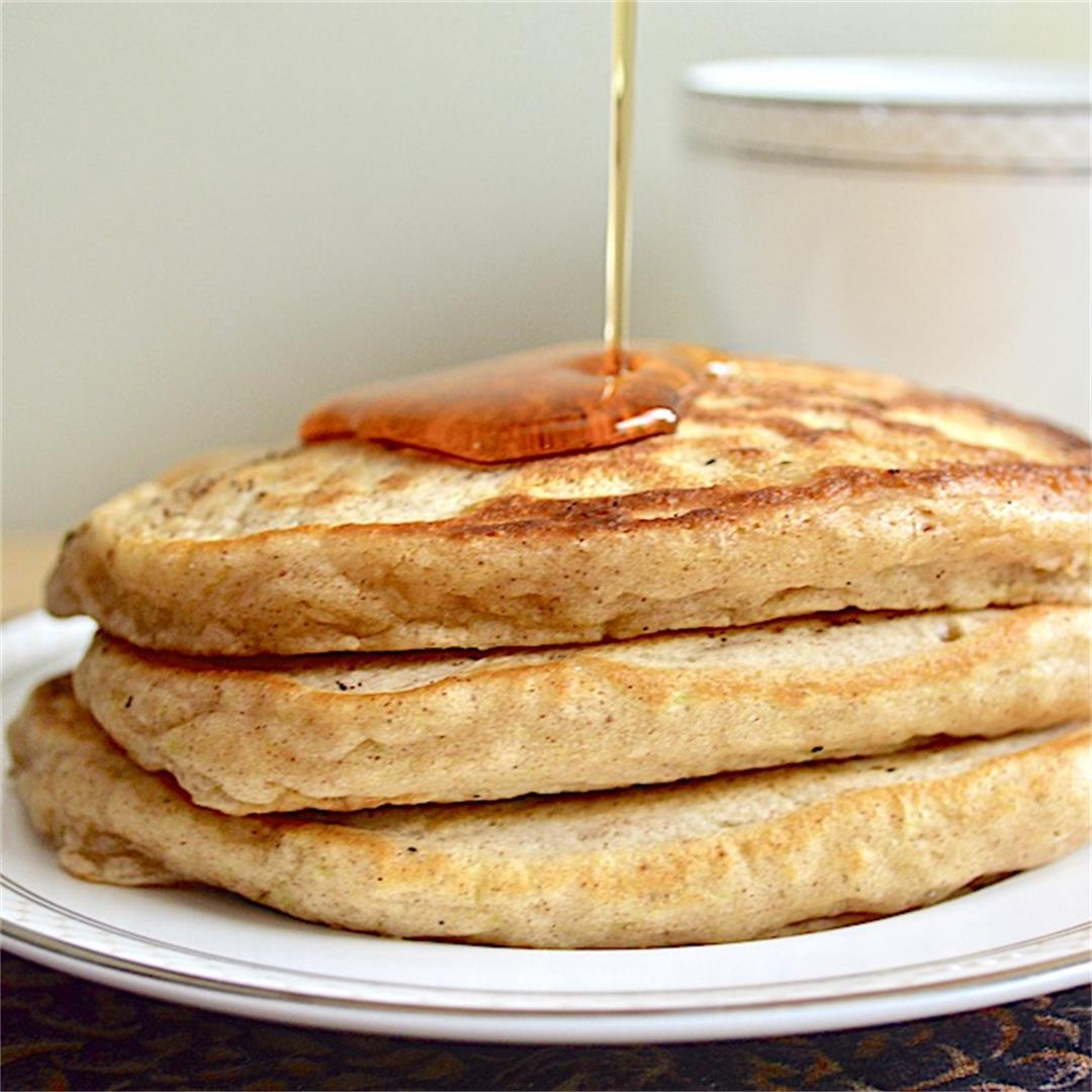 Zucchini Bread Pancakes - Jeanie and Lulu's Kitchen