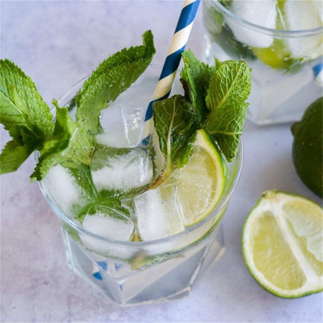 Cocktail Hour: Easy Mint Mojito Syrup