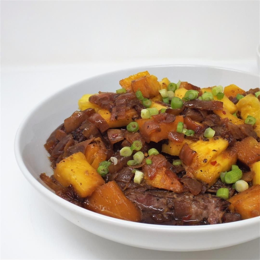 Slow Cooker Hawaiian Style Pot Roast