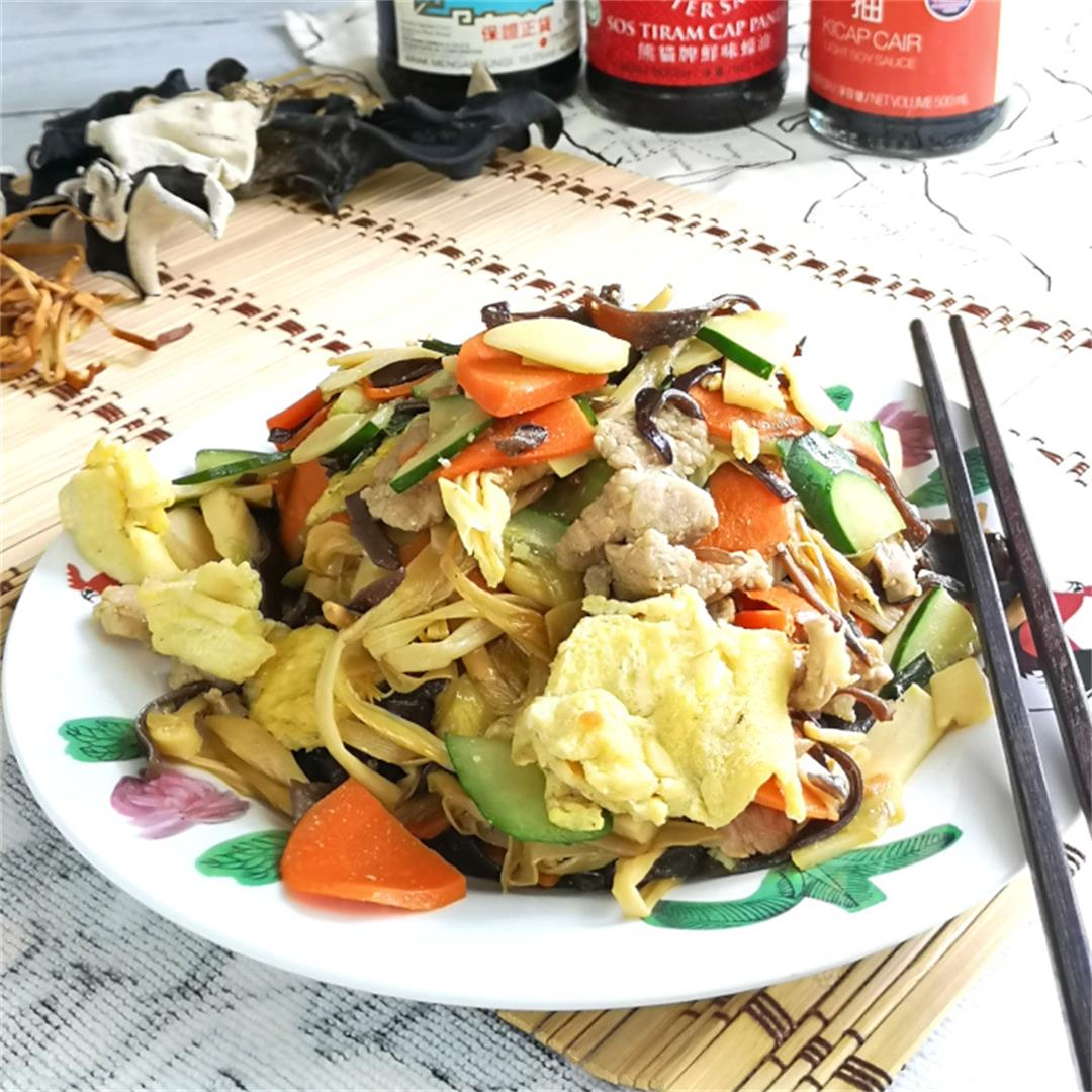 Moo Shu Pork 木须肉